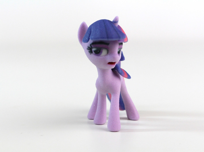 My Little Pony - Twilight Posed (≈65mm tall) 3d printed