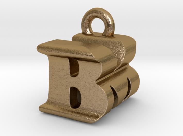3D Monogram Pendant - BMF1 3d printed