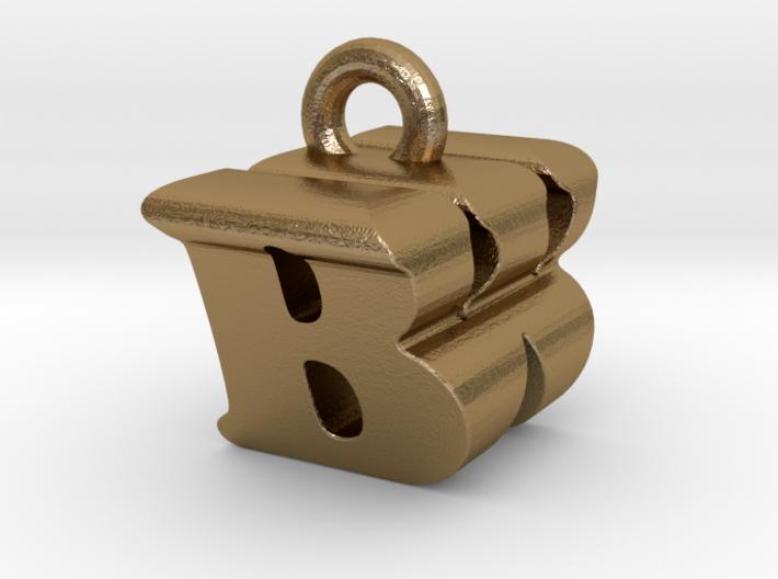 3D Monogram Pendant - BWF1 3d printed
