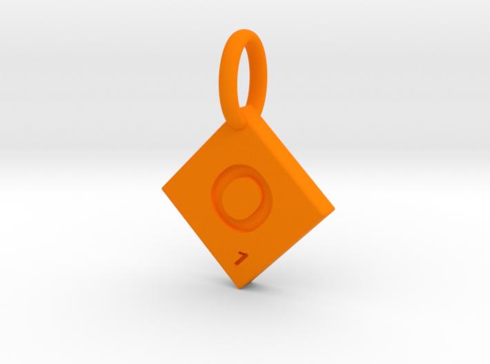 SCRABBLE TILE PENDANT O 3d printed