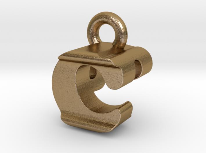3D Monogram Pendant - CPF1 3d printed