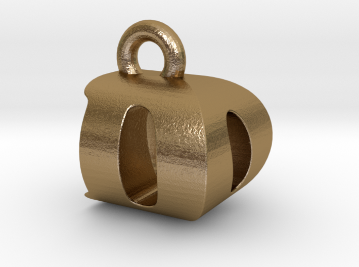 3D Monogram Pendant - DOF1 3d printed