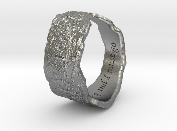 Sierras Ring 14.5mm 3d printed