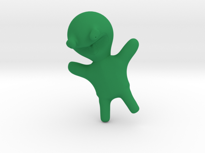 Happy Frog Toy 3d printed