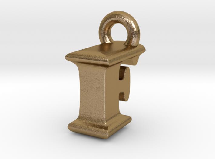 3D Monogram Pendant - IFF1 3d printed