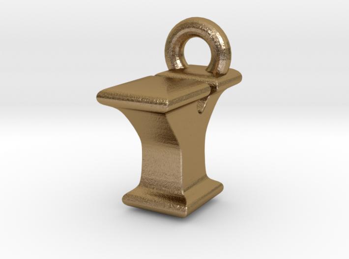 3D Monogram Pendant - IYF1 3d printed