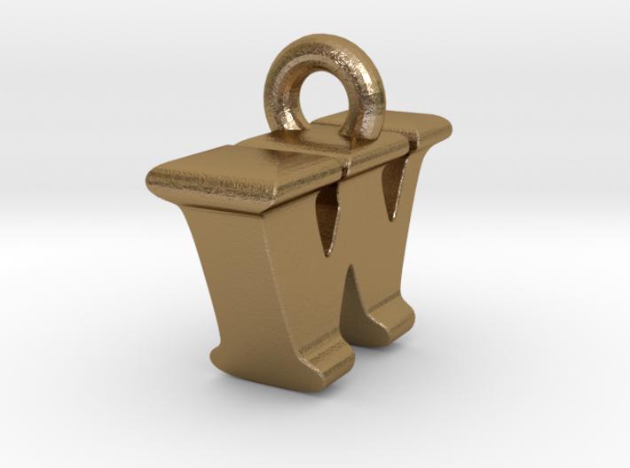 3D Monogram Pendant - IWF1 3d printed