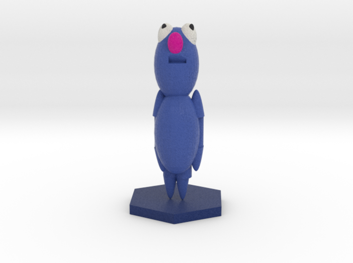 Grover Sesame street 3d printed