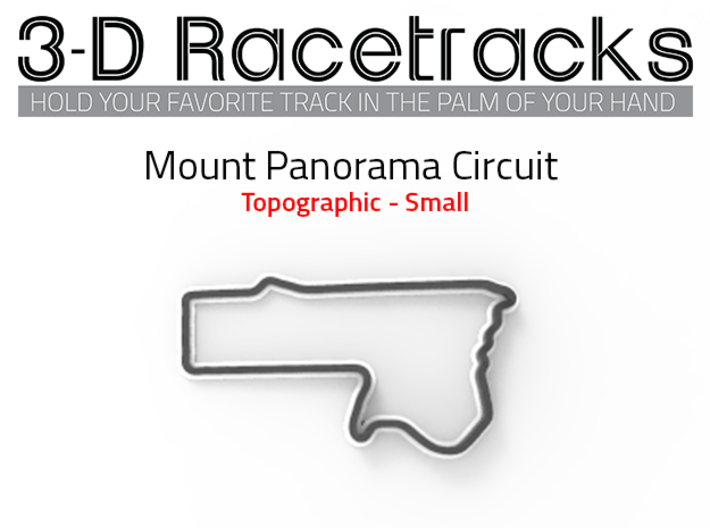 Mount Panorama Circuit | Small 3d printed