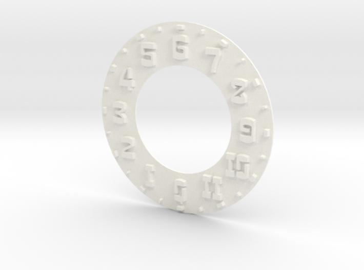 Hudson Speedo Numbers - Raised 3d printed
