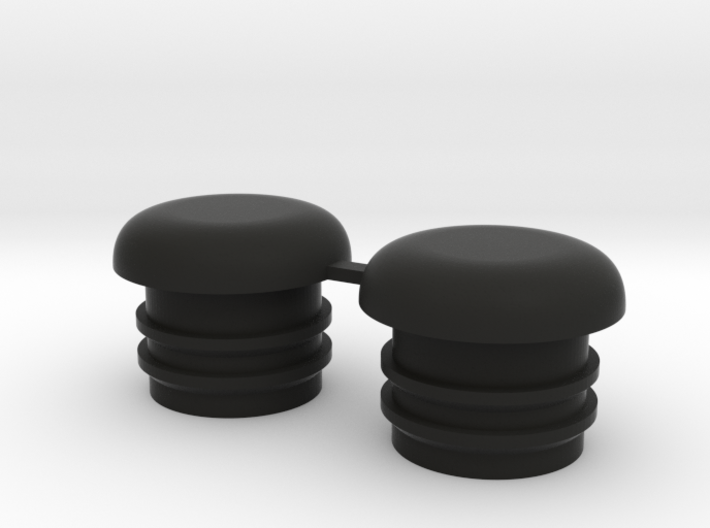 Bugaboo Front Wheel Caps 3d printed
