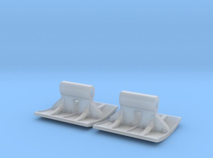 2x Pflasterklinker-Stempel 28mm (N 1:160) 3d printed