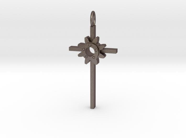 Faith Pendant 3d printed