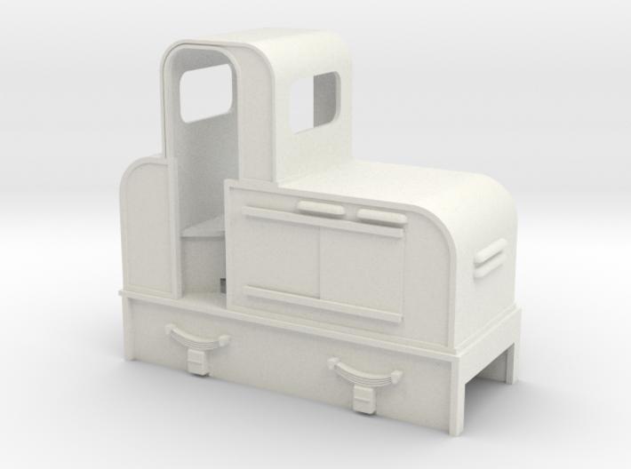 O9 early Jung diesel loco 3d printed