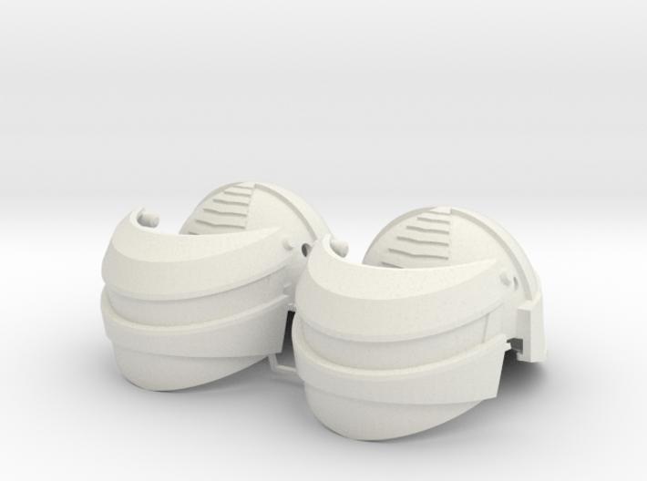 1:6 Scale Reptilian Helmet X2 3d printed