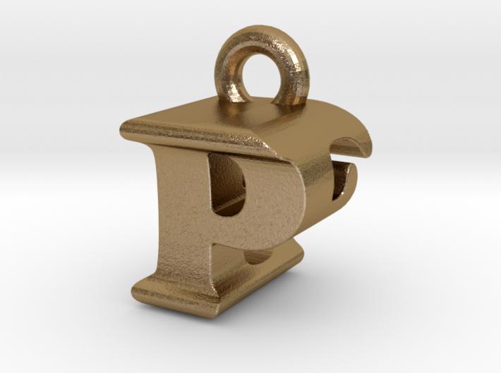 3D Monogram Pendant - PEF1 3d printed
