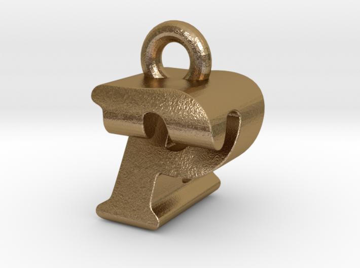 3D Monogram - PZF1 3d printed