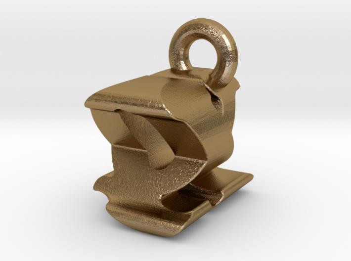 3D Monogram - QXF1 3d printed
