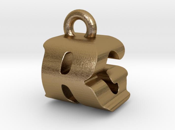 3D Monogram - RGF1 3d printed