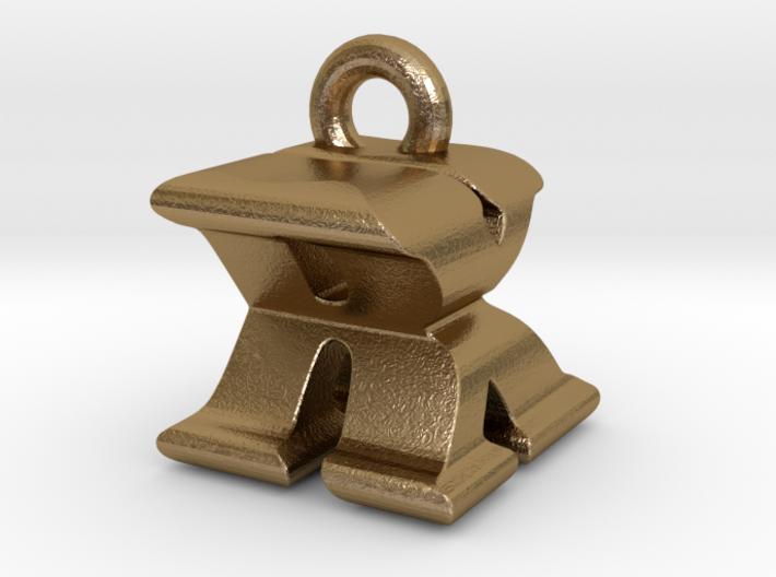 3D Monogram - RXF1 3d printed