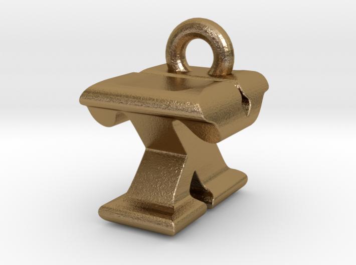 3D Monogram - TXF1 3d printed