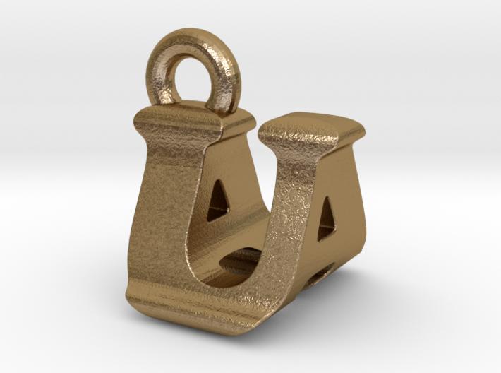3D Monogram - UAF1 3d printed