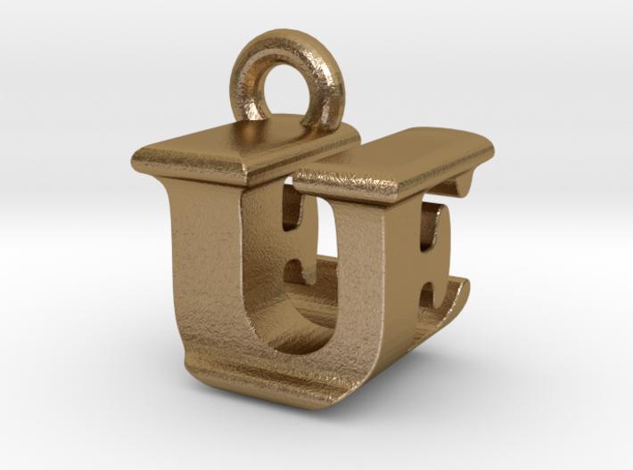 3D Monogram - UEF1 3d printed