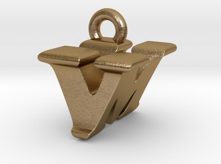 3D Monogram - VMF1 3d printed