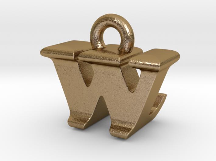 3D Monogram - WLF1 3d printed