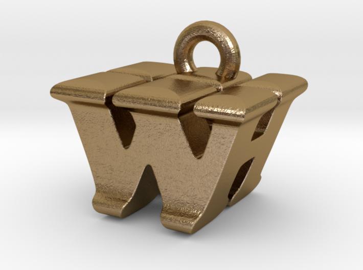 3D Monogram - WHF1 3d printed