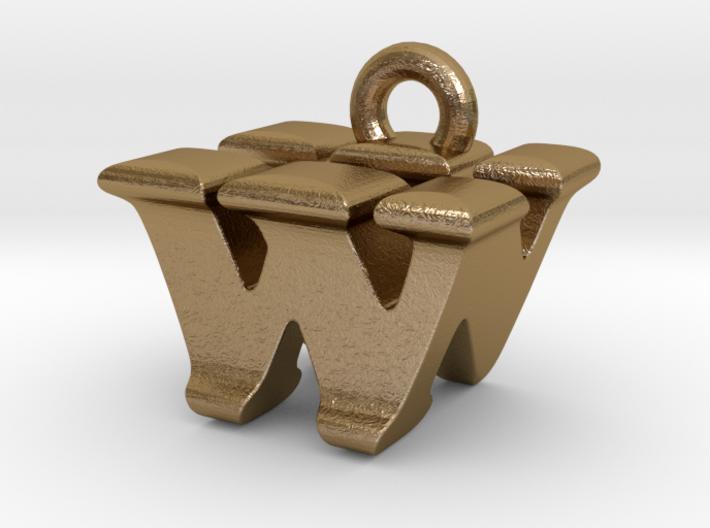 3D Monogram - WNF1 3d printed