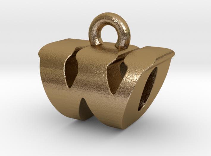 3D Monogram - WOF1 3d printed