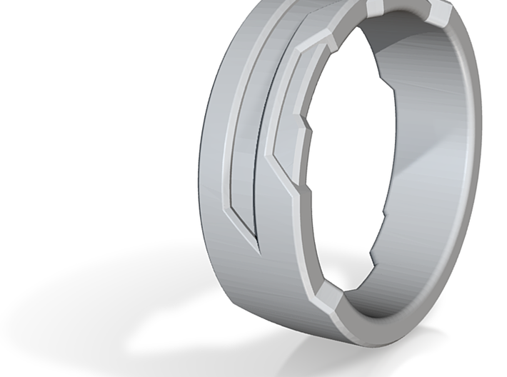 HALO Ring 3d printed
