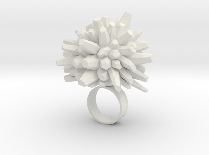 Icy Ring 3d printed