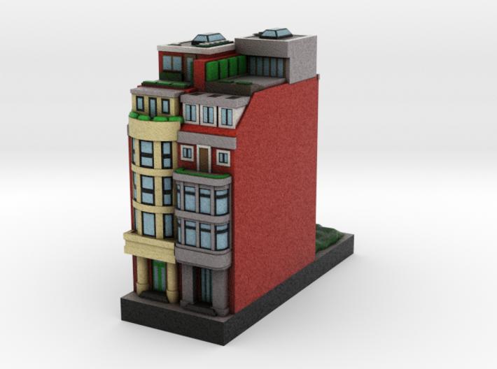 New York Guggenheim Set Residential Building D 1 x 3d printed