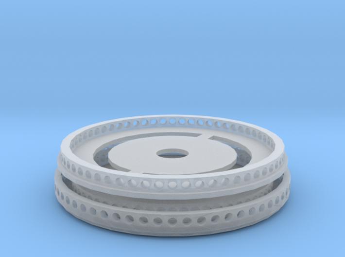 Quick Connection für Herpa LR 1600/2 mit Bohrung 3d printed