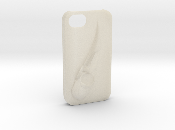 Raven Iphone4 3d printed