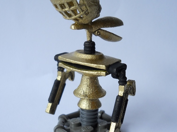Crow Puppet Mini 3d printed Stand Not Included- butit easy to make with LEGO