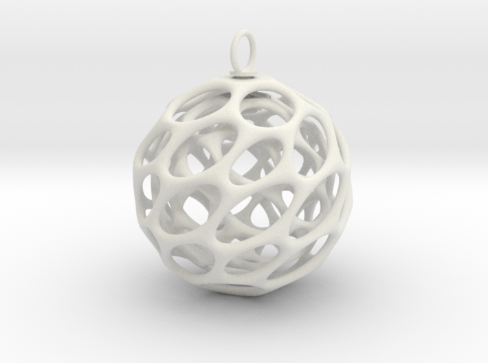 Christmas Bauble 5 3d printed