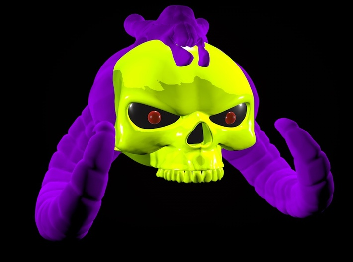 New52 style Skeletor 3d printed
