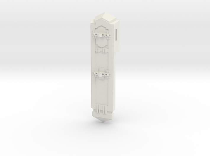 Facade Stanchion Element 3d printed