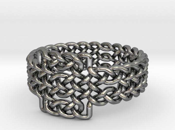 Celtic Knots Ring 17 3d printed