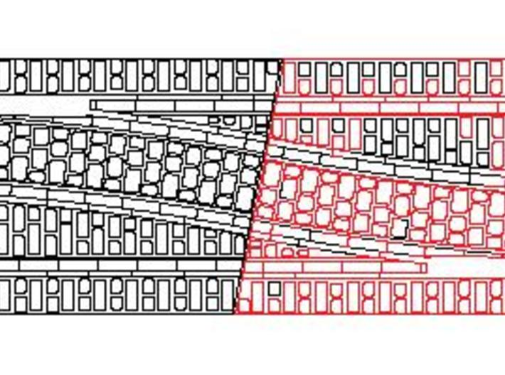 P-165-32st-tram-exchange-rh-100-live-1a 3d printed plan to show the two halves fitted together
