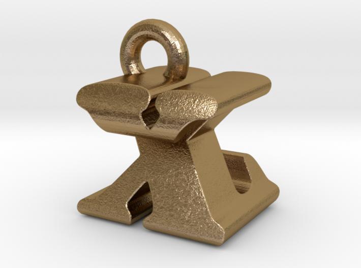 3D Monogram - XZF1 3d printed