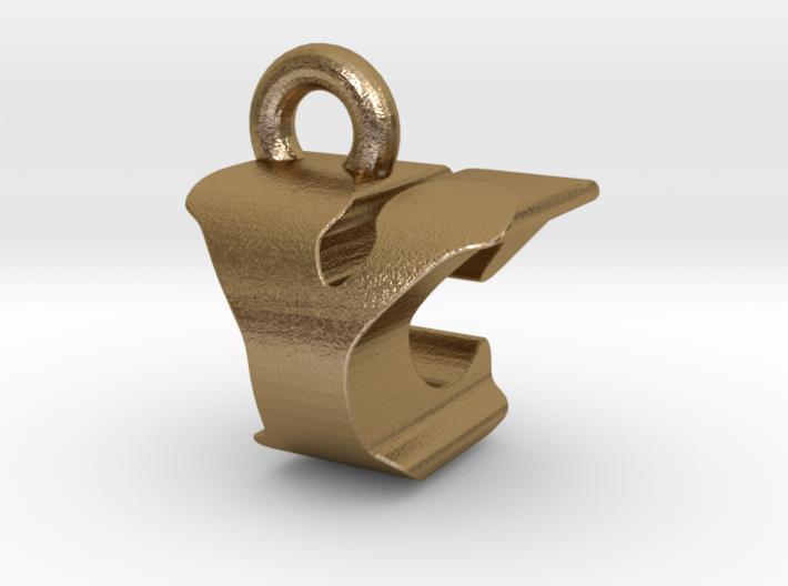 3D Monogram - YCF1 3d printed