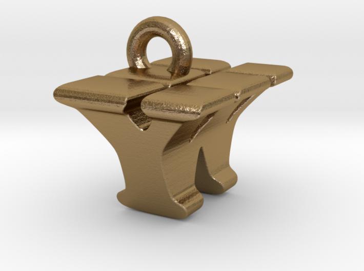 3D Monogram - YWF1 3d printed