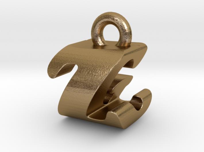 3D Monogram - ZGF1 3d printed