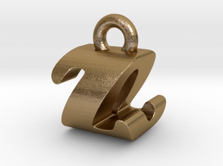 3D Monogram - ZOF1 3d printed