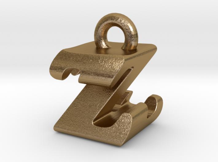 3D Monogram - ZZF1 3d printed