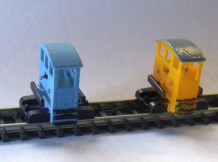 Breuer Lokomotor-VL 3d printed Bild zeigt zwei mögliche Lackierungen